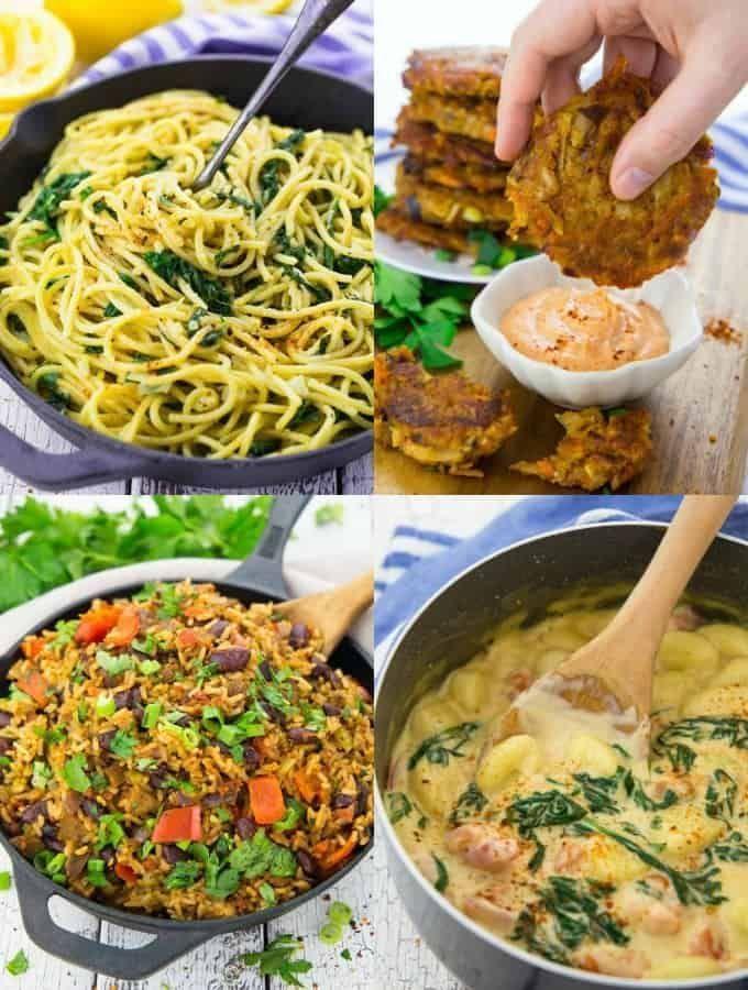 15 Vegane Gerichte Fur Unter Der Woche In 2020 Gesunde Vegane Rezepte Vegane Gerichte Vegane Rezepte