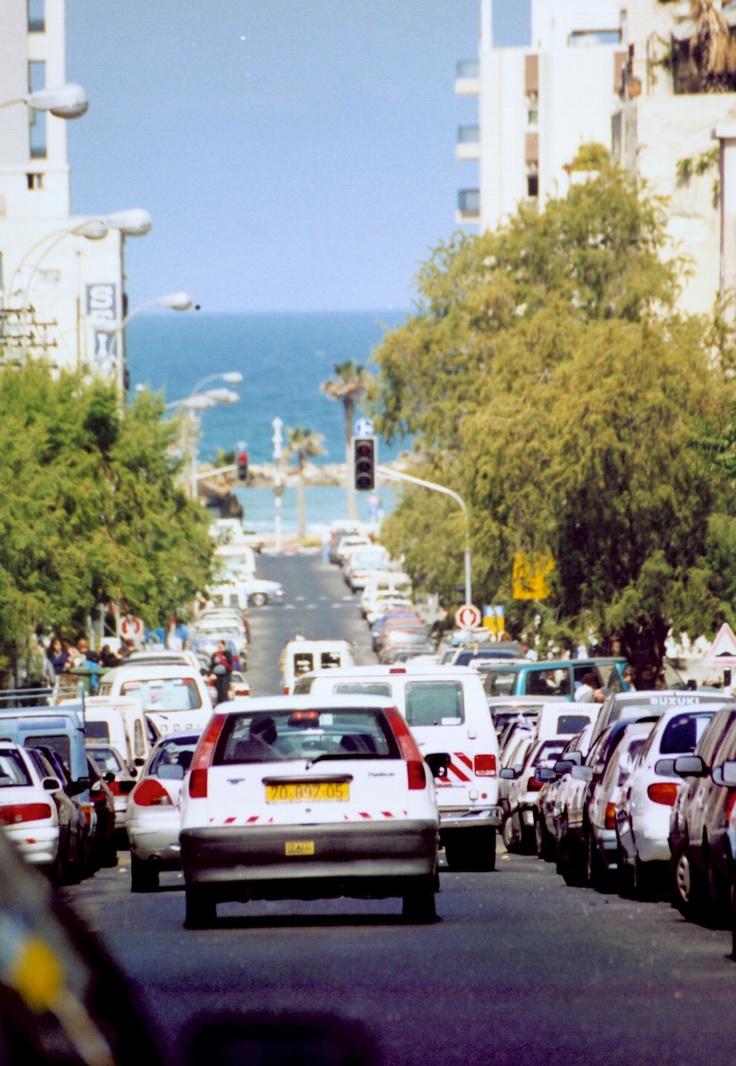 too the blue sea. tel aviv.