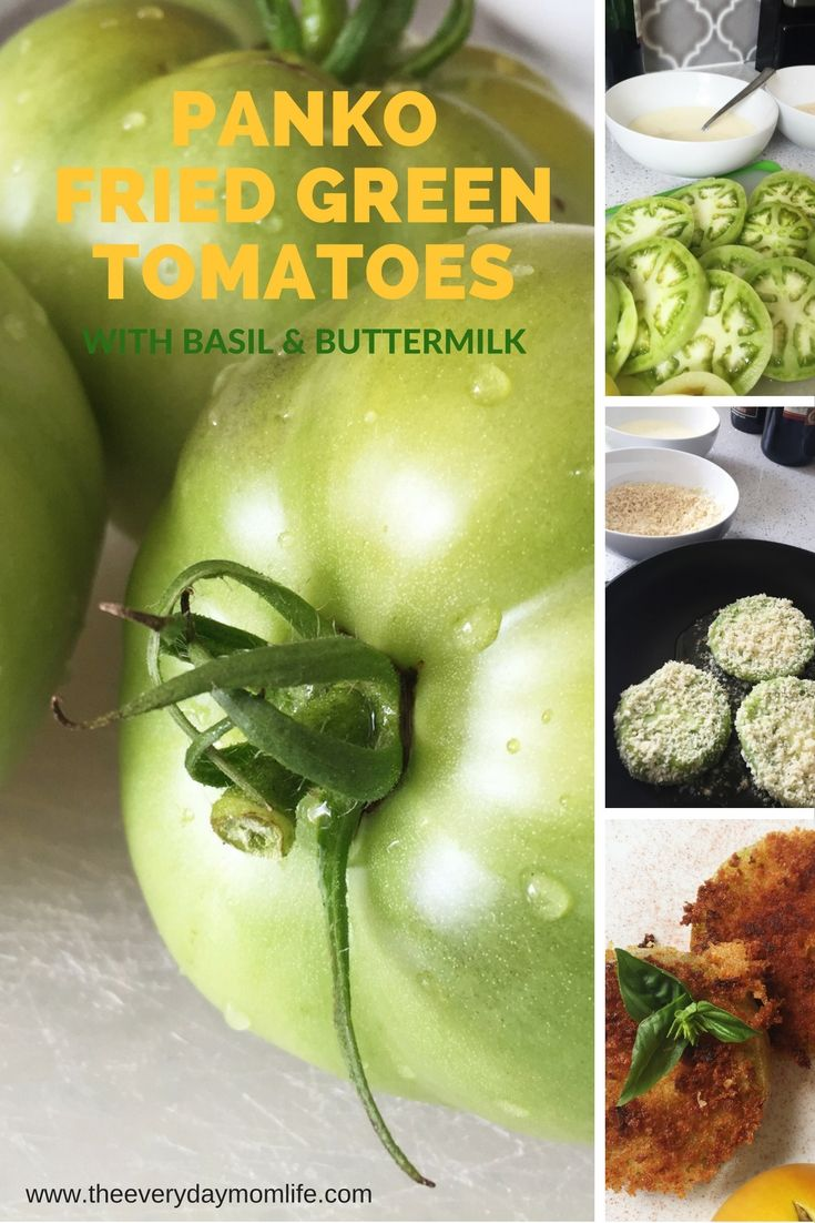 Check out our recipe for Panko Fried Green Tomatoes.