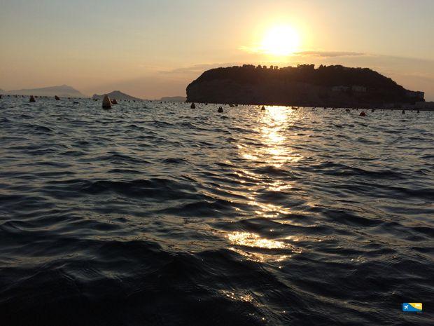 Nisida al tramonto