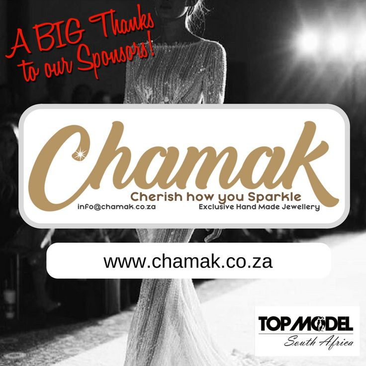 Thanks to Chamak for your sponsorship! We appreciate your support!  Visit them on www.chamak.co.za #TMSA17 #TMSASponsor