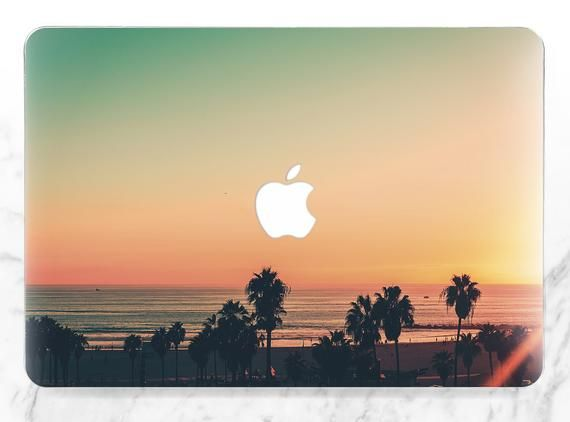 Macbook case summer Sunset Inspirational case Macbook case orange Macbook hard case Macbook case na