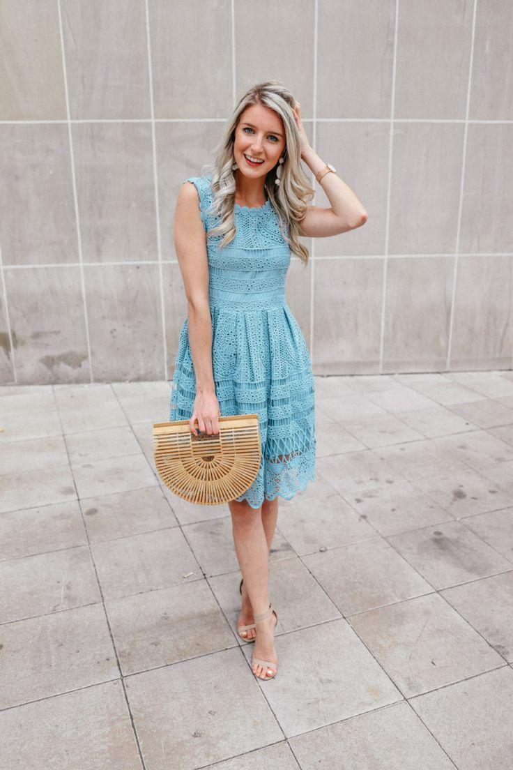 The Perfect Wedding Guest Dress Prada Pearls Spring Wedding Guest Dress Guest Attire Wedding Guest Dress Summer [ 1104 x 736 Pixel ]
