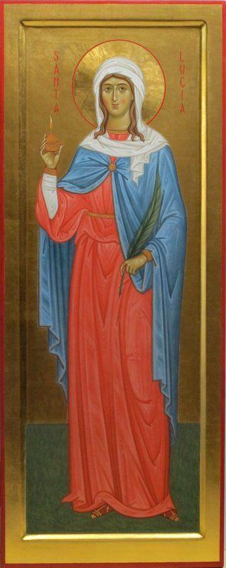 Santa Lucia per mano di Francesca Pari
