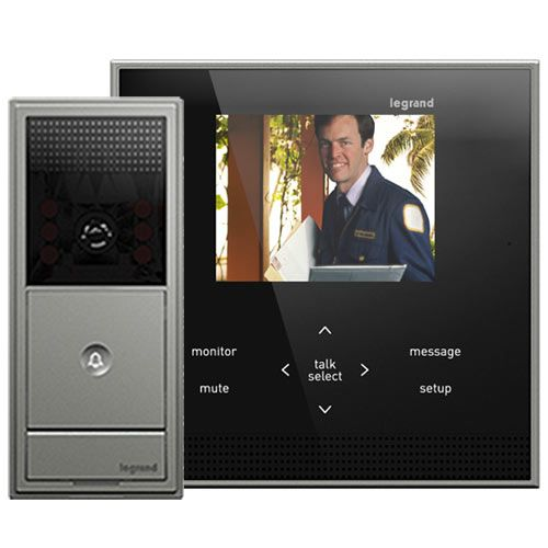 17 best images about home intercoms on pinterest front for Front door video intercom