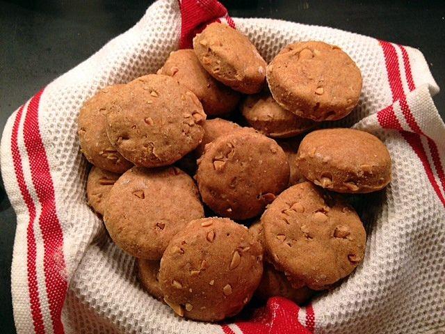Peanut Biscuits -- Pure Genius!