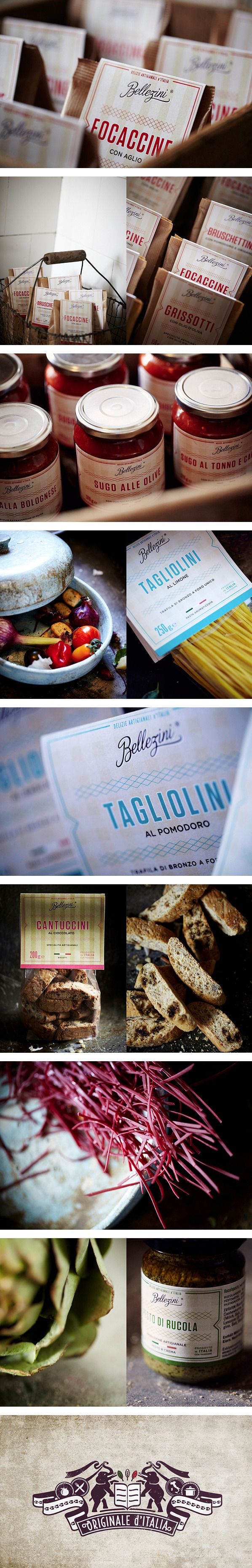 BELLEZINI Packaging by STUDIO CHAPEAUX #packaging #branding #marketing PD