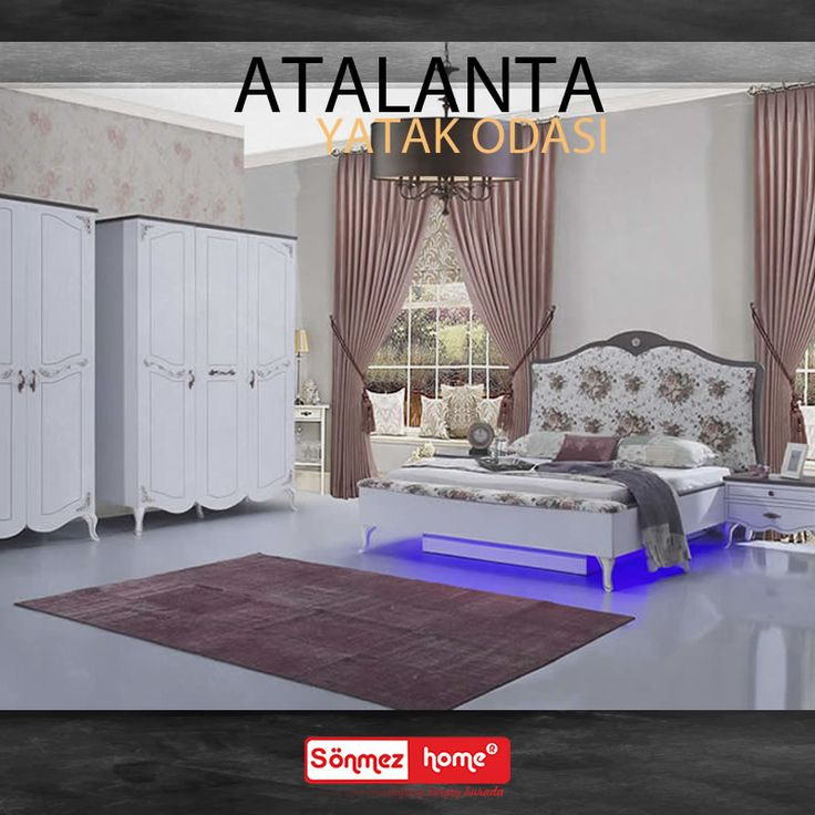 Atalanta Yatak Odası Takımı ile haftaya mutlu ve enerjik başlayın! #Modern #Furniture #Mobilya #Atalanta #Yatak #Odası #Sönmez #Home