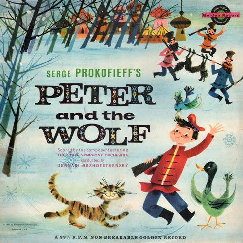 Peter and the Wolf: Frank Milano (Golden, 1957)