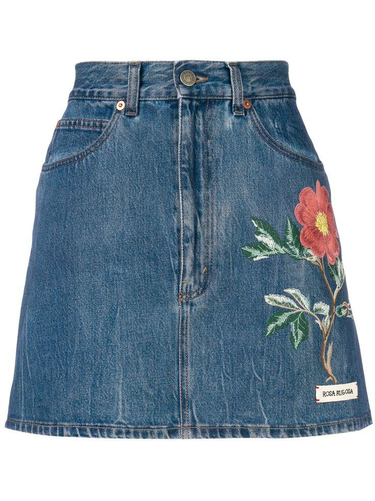 Gucci Flower Skirt