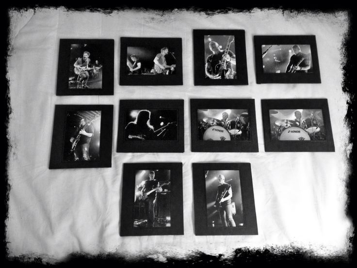 Black and Whites that I took of Big Wreck - Ghosts tour 2014.