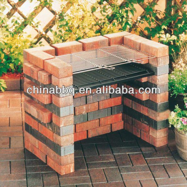 Landmann Diy Make Your Own Brick Bbq I Really Like This Idea Outdoor Kitchen Here Come