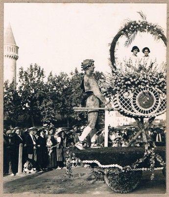 VALENCIA EN BLANCO Y NEGRO: 1905 / Ca - 1905 Feria de Julio Fuente: Rafael Solaz / vintage photography