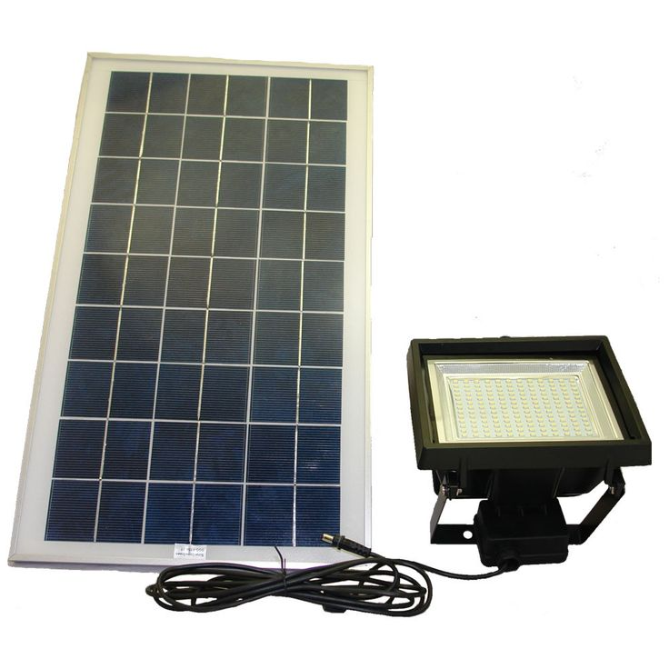 This Fantastic Outdoor Flood Light Is The Perfect Solution For Your  Commercial Or High Demand Flood Light Needs. The Solar Goes Green Solar Flood  Light With ...