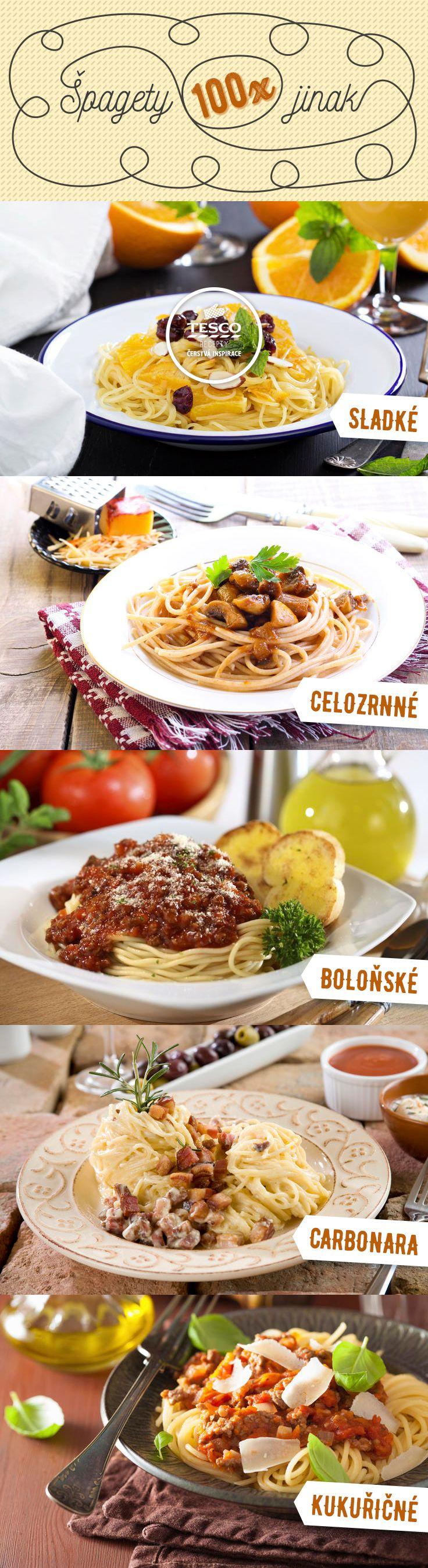 Špagety tak, jak je máme nejraději - tady nejde šlápnout vedle.