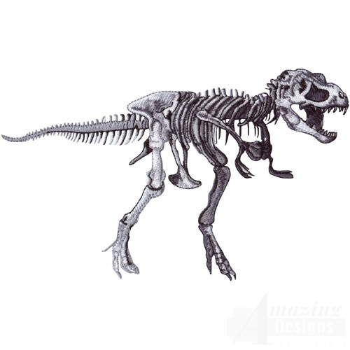 Tyrannosaurus Rex Skeleton  on amazingdesigns.com   LOVE IT!!