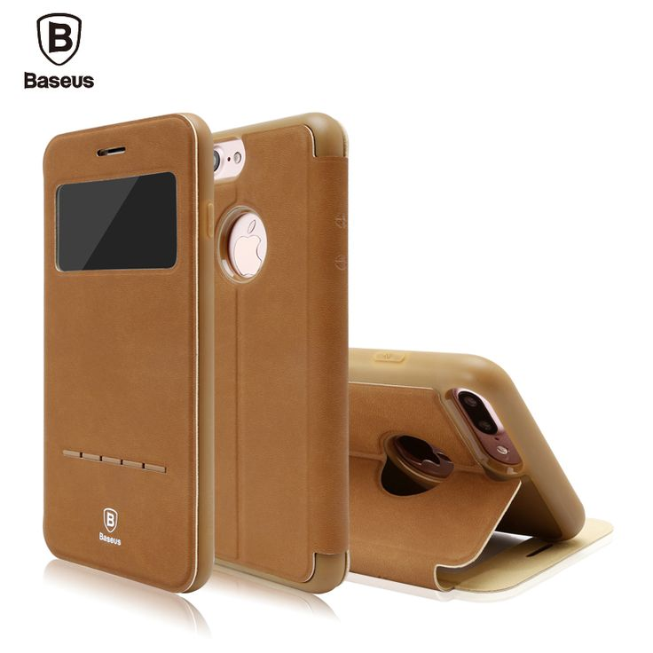 Find More Phone Bags & Cases Information about Baseus Leather Phone Case For iPhone 7 Plus Case Cover 4.7/5.5 inch Full Coverage Peotection Bracket Phone Shell Retail Package,High Quality phone old,China phone case blackberry curve Suppliers, Cheap phone case machine from Ranshine (HK) Technology Co., Ltd. on Aliexpress.com