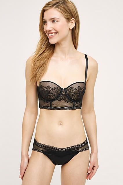 http://www.fashionnewswebsites.com/category/lingerie/ Calvin Klein Emure Long-Line Bra - anthropologie.com