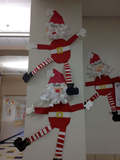Santa Craft School Christmas Crafts And