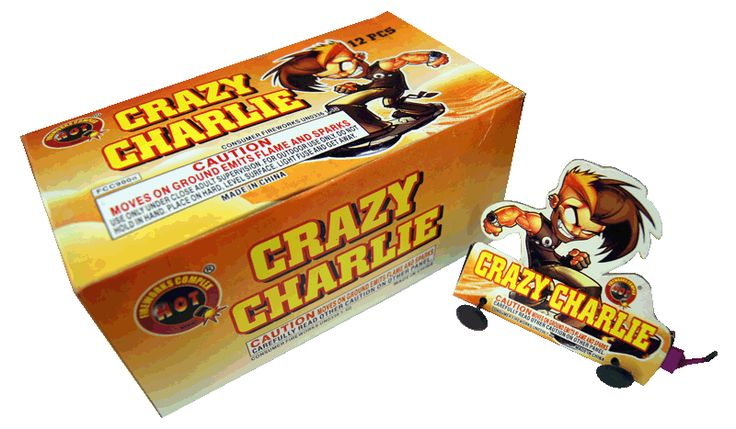 Crazy Charlie | NCI, Inc. Indiana Fireworks Wholesale
