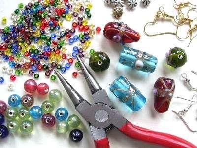 Making jewelry calms me