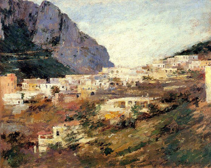 Capri and Mount Solaro - Museum of Fine Arts