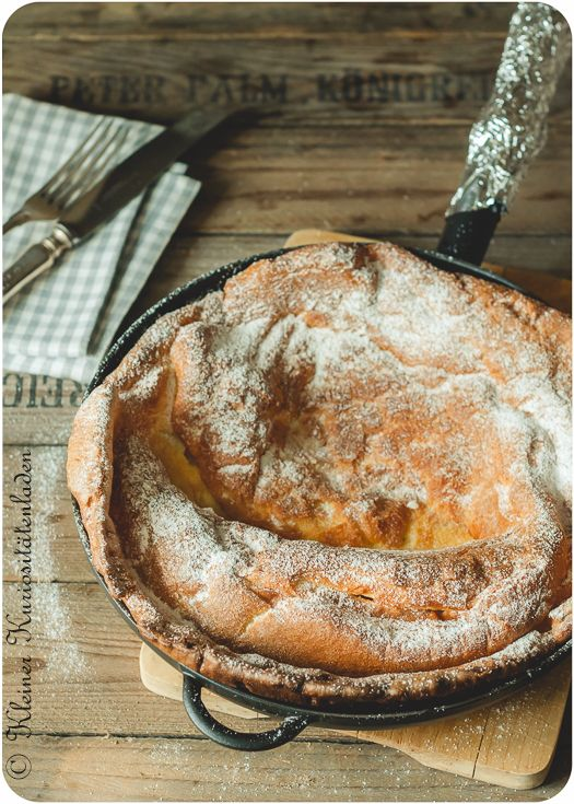 Dutch Babies ~ Ofenpfannkuchen in der Pfanne