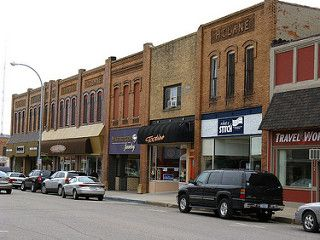 This is a picture of the downtown where I spent many of my childhood days.