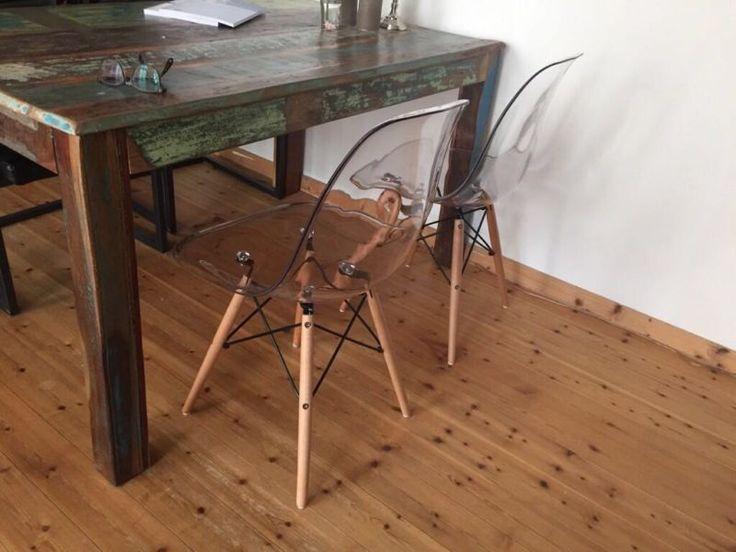 verkaufe hier meine neuen 4 sthle es sind eames replica modell dsw die sitzschale eames chair replica dsw neu in kassel kassel - Eames Stuhl Replik
