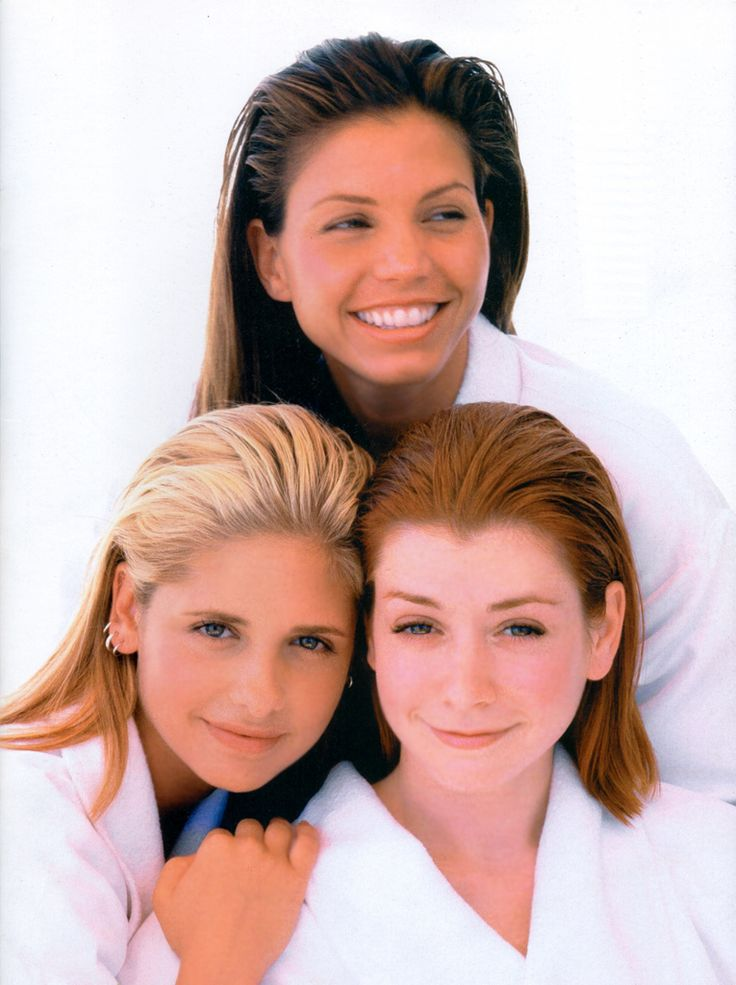 Sarah Michelle Gellar, Alyson Hannigan and Charisma Carpenter