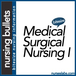 Nursing Bullets: Medical-Surgical Nursing Part I