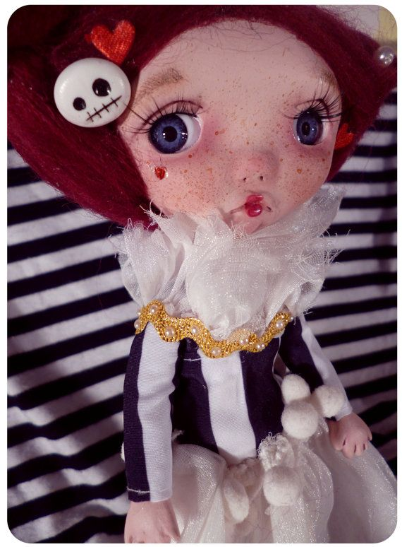 #doll #ooak #poseable #handmade