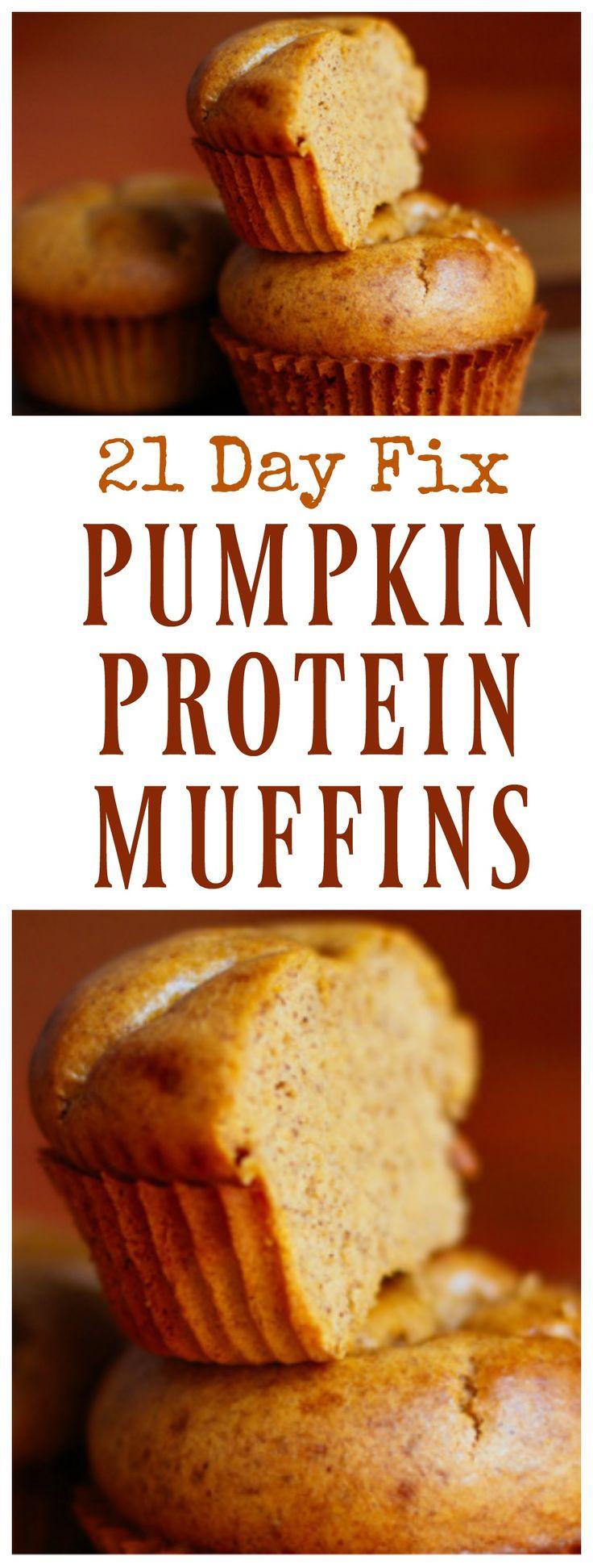 21 Day Fix Pumpkin Protein Muffins #21dayfixmuffins #21dayfix #21dayfixrecipes #21dayfixmuffinrecipes #21dayfixpumpkinmuffins #cleaneatingmuffins #cleaneating #cleaneatingrecipes #cleaneatingmuffinrecipes #cleaneatingpumpkinmuffins