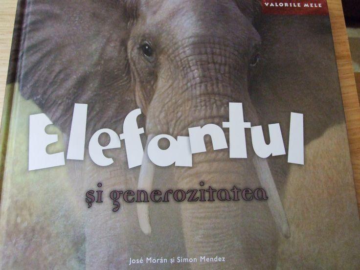 Gânduri și culoare: Un elefant și visul african