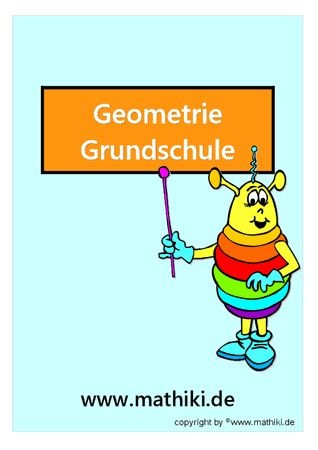 Besuche das Mathiki-Online-Camp. Hier findest Du Mathe-Arbeitsblätter zum Thema: Geometrie in der Grundschule - ©2011-2016, www.mathiki.de - Ihre Matheseite im Internet #math #geometrie #geometry #arbeitsblatt #worksheet