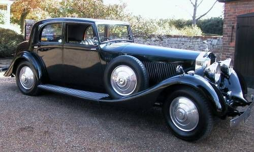 Rolls Royce Phantom 2 Continental By Barker For Sale (1935)