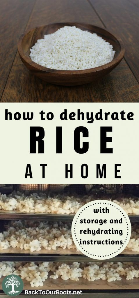 How to Make Homemade Organic Instant Rice