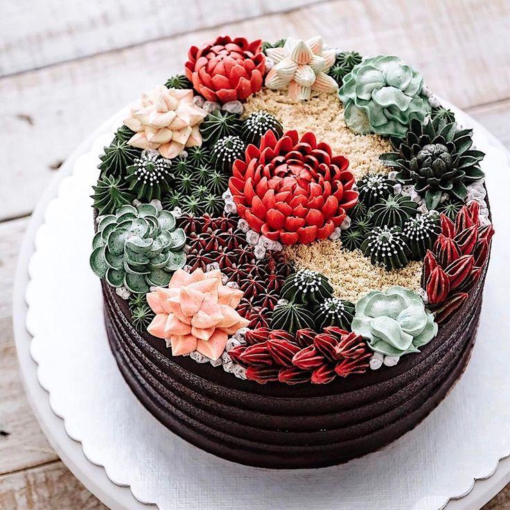 Artista Iven Kawi cria esses bolos perfeitos, que conquistam os olhos e o estômago