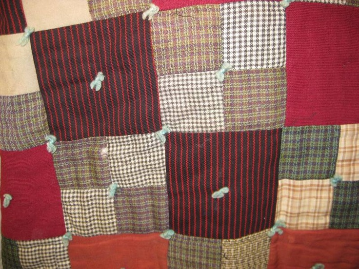 24 best Quilts that are tied images on Pinterest | Bed duvets ... : tied quilt patterns - Adamdwight.com
