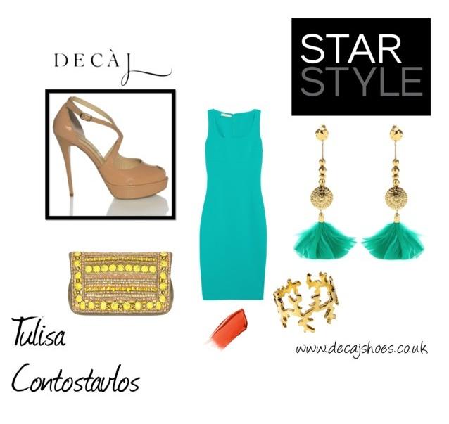 Star Style - Tulisa Contostavlos  'Olivia' by Decaj