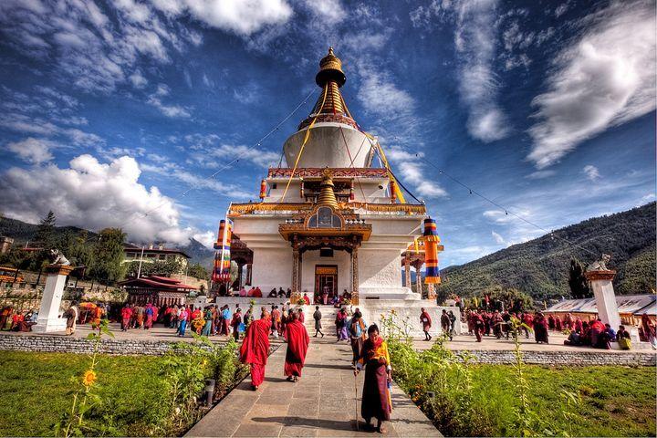 1972年にナイロビで客死した第3代国王が建立した仏塔。ブータン 旅行・観光のおすすめスポット!