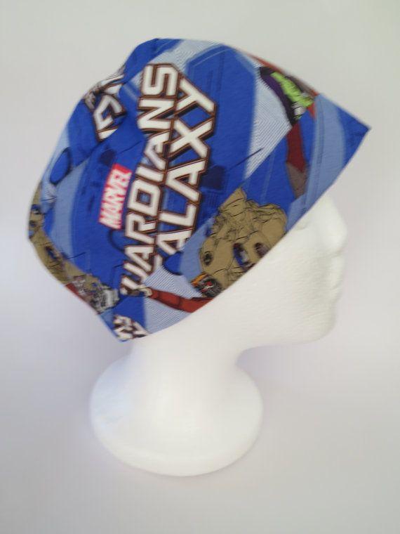 Nurses Cap Scrub Hat  'Guardians of the Galaxy' by SnazzyScrubHats