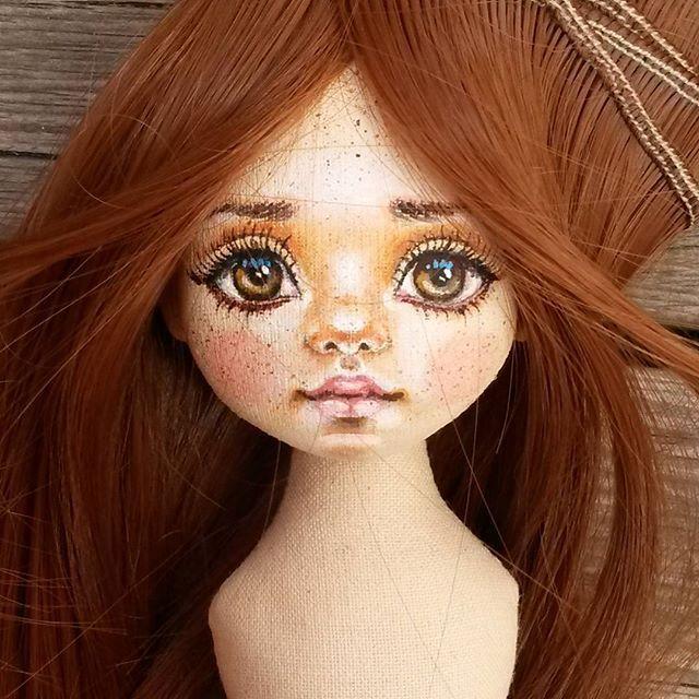 РЕЗЕРВ. Решила сделать одну девочку , немного отвлекусь от кукол со сходством ☺