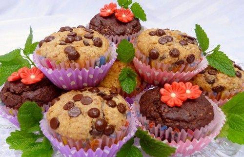 Tej- és tojásmentes muffin