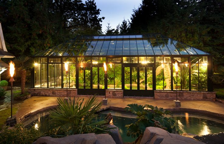 17 best images about conservatories greenhouses on for Garden pool doomsday preppers