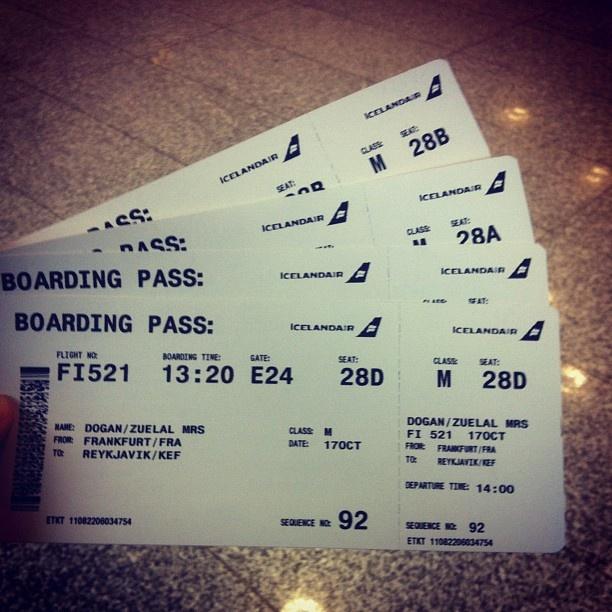 HOLIDAY❤ #reykjavik #holiday #boardingcard #frankfurt #airport #so #much #fun #exciting #to #look #nothern #lights #love #sis #uncle #instagood #follow @diba_dogan @ceyhundogan - @z_dogan- #webstagram