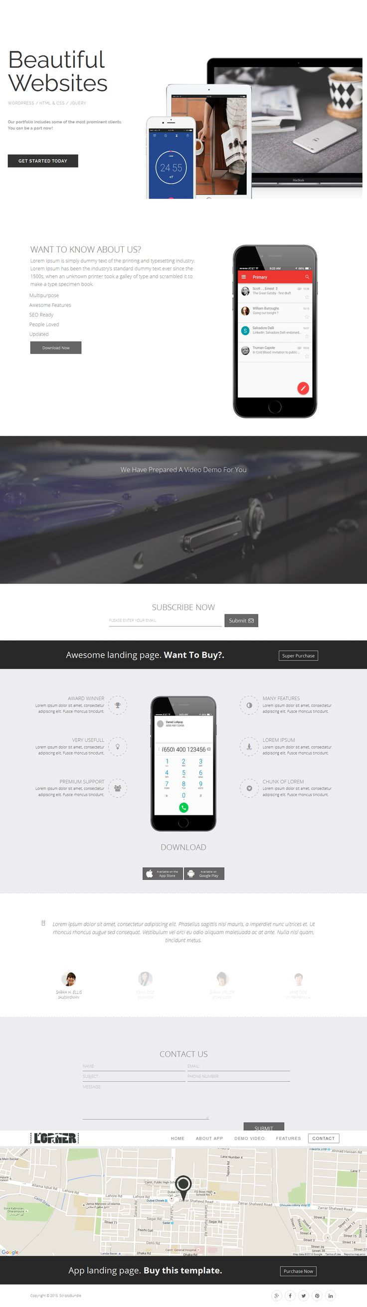 34 best Website Templates And Themes images on Pinterest | Website ...