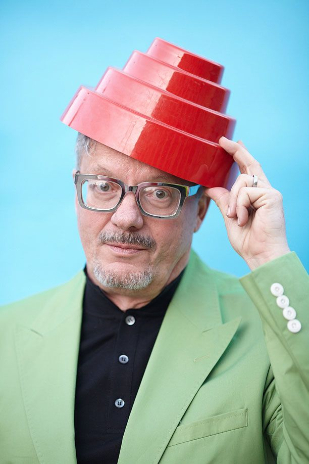 Mark Mothersbaugh's new eyewear line.