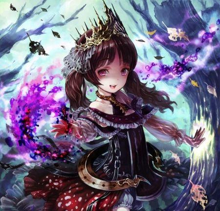 Dark magic other wallpaper id 1997319 desktop nexus - Dark anime girl pics ...