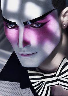 Circus male makeup - Pesquisa Google
